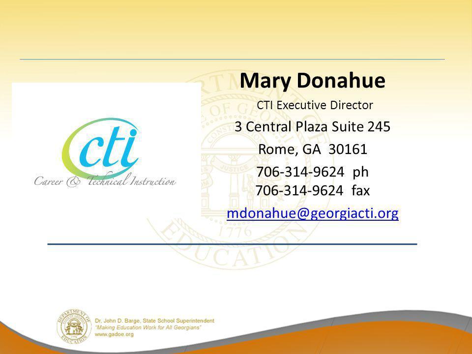 CTI Executive Director