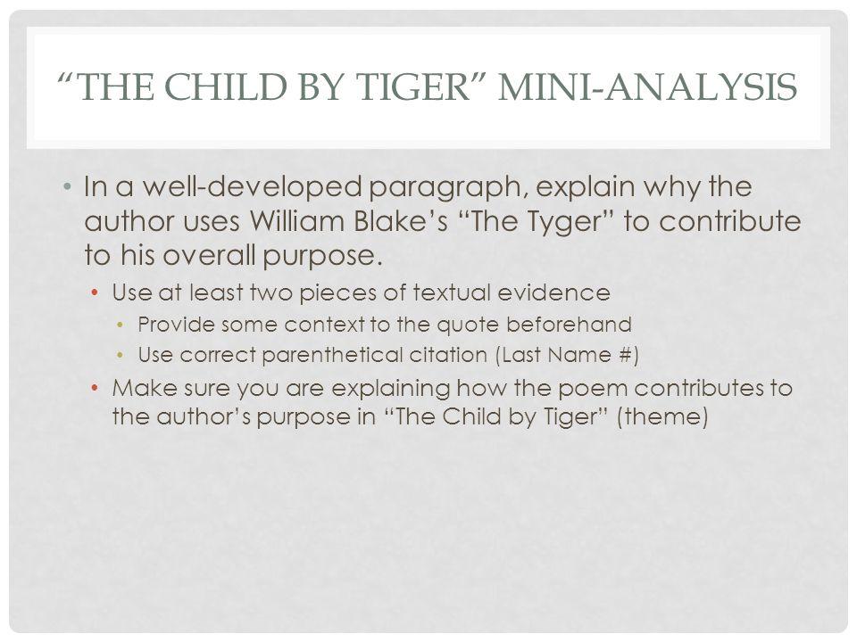 child tiger thomas wolfe