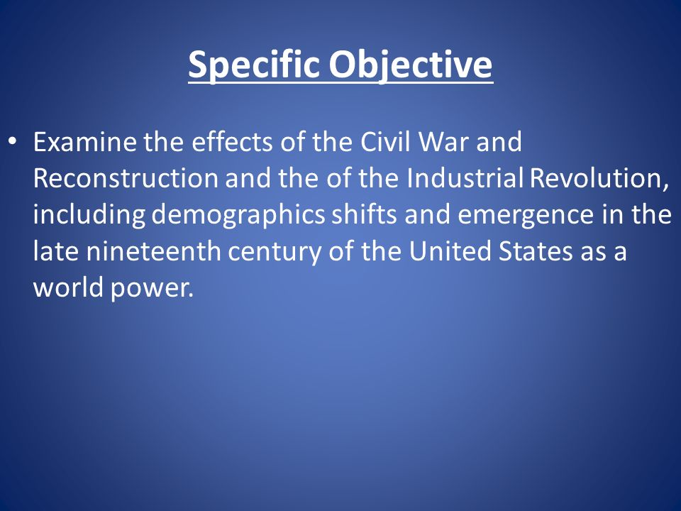industrial revolution and the civil war Find helpful customer reviews and review ratings for the american civil war and the wars of the industrial revolution (the history of warfare) at amazoncom read honest and unbiased product reviews from our users.