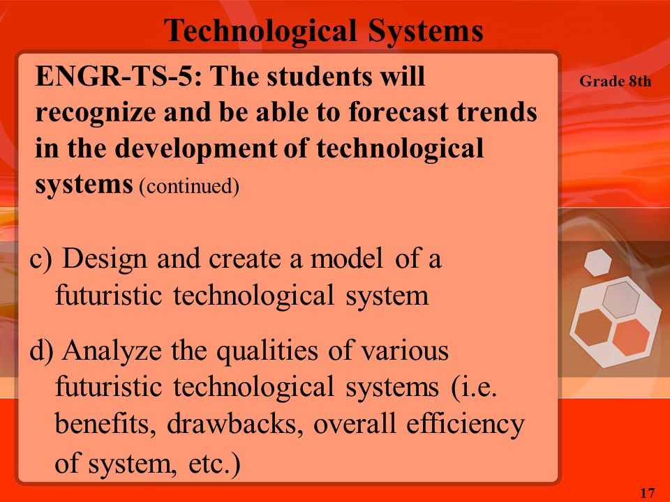 Design and create a model of a futuristic technological system