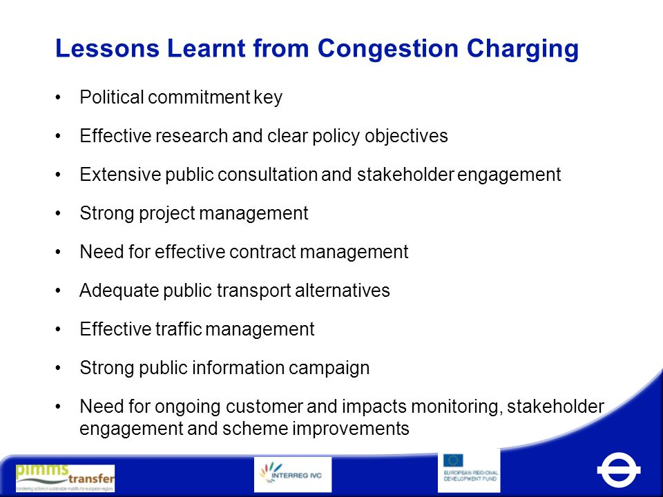 Congestion Charging London Ppt Video Online Download