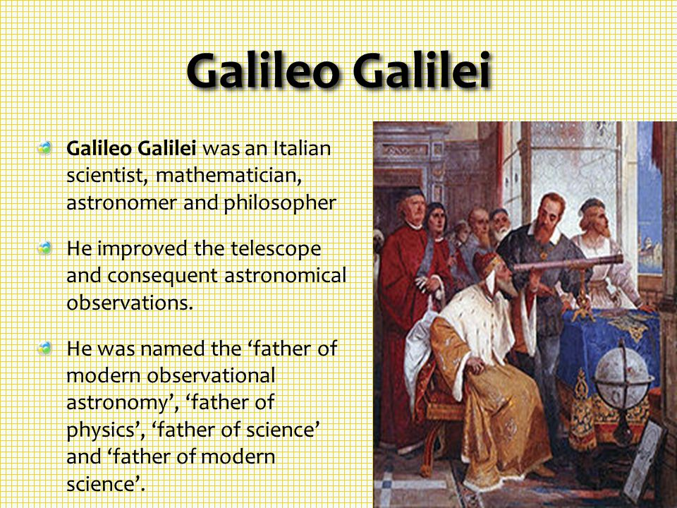 the life of galileo galilei a founder of modern experimental science A very short history of renaissance astronomy - galileo click on my face for fun galileo galilei (1564 - 1642) galileo is generally given recognition for discrediting the ptolemaic model his contributions to astronomy, physics, and the fields of science in general can not be understated.