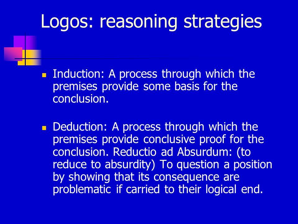 Logos: reasoning strategies