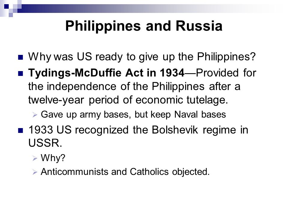 Philippines and Russia