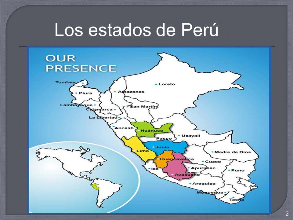 Los estados de Perú 2