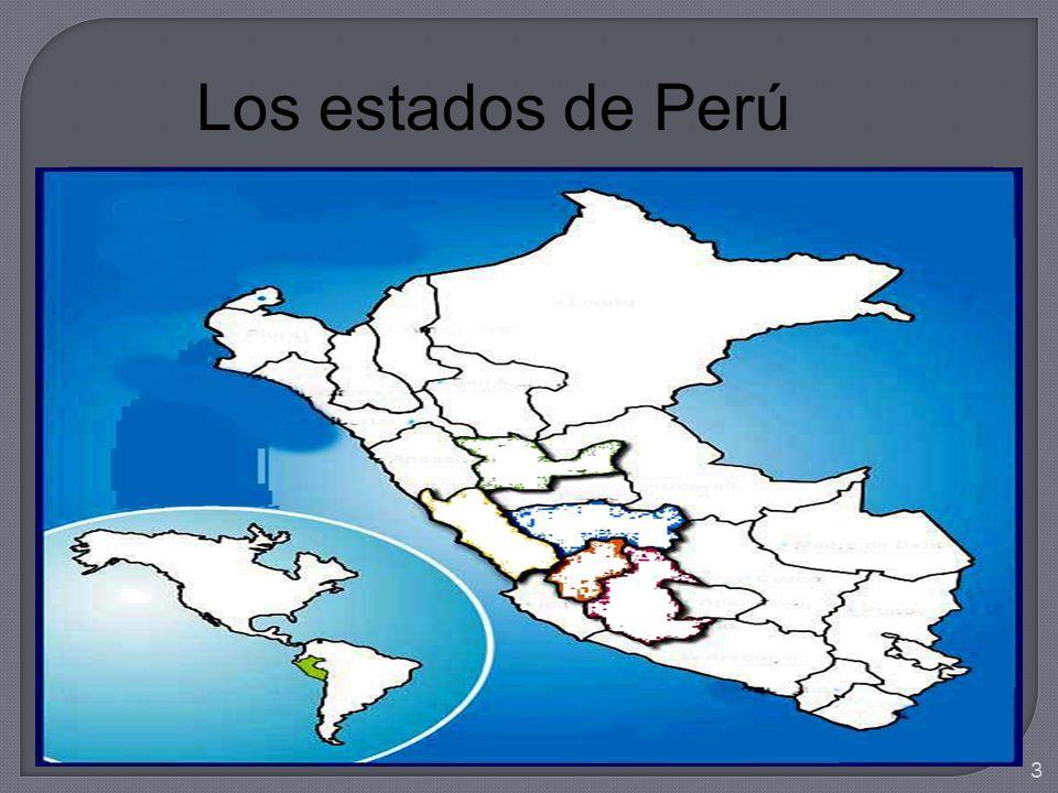 Los estados de Perú 3