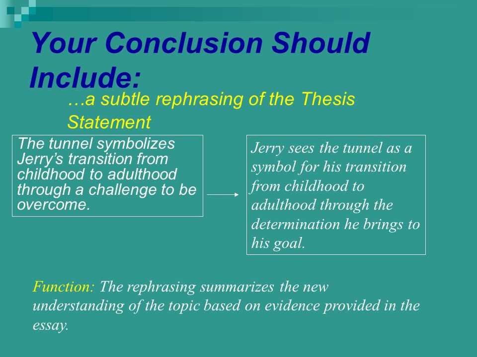 the thesis statement is the foundation of a response to literature Response to informational text at the high school level this may also be referred to as the thesis statement elaboration: response to literature rubric.
