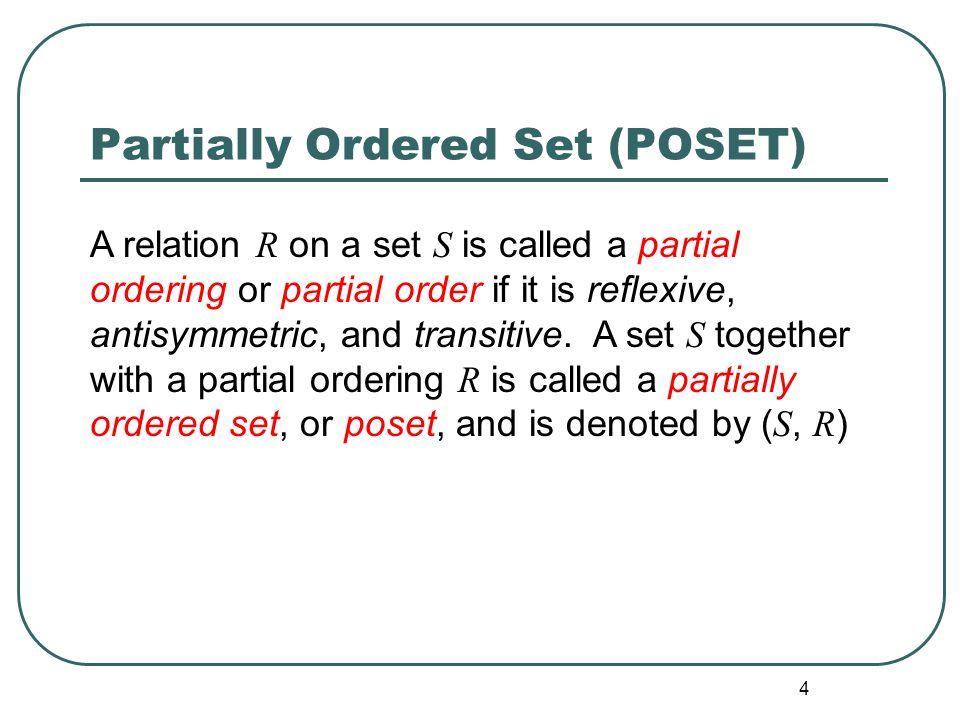 poset in discrete mathematics pdf
