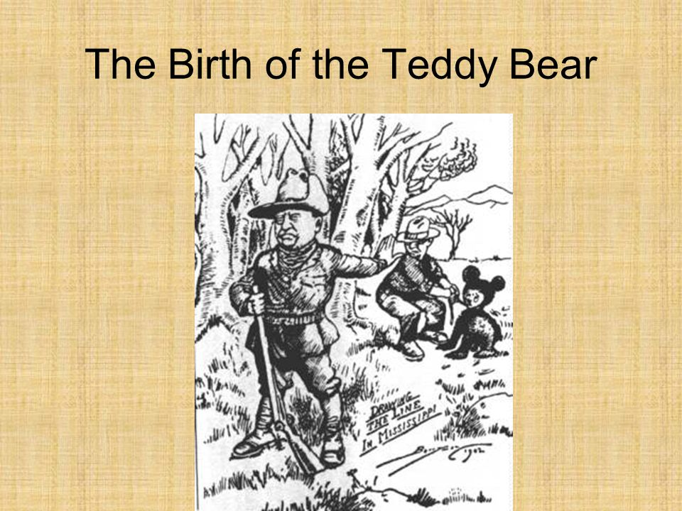 The Birth of the Teddy Bear