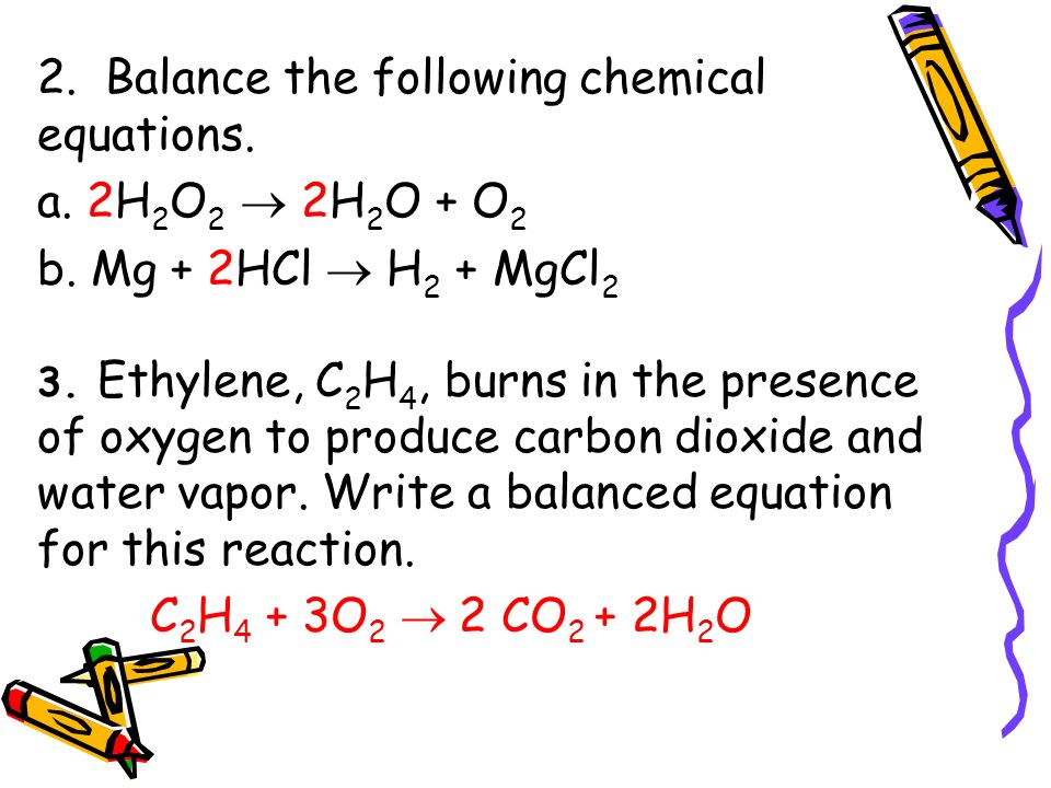 Chapter 7 Chemical Reactions - ppt download