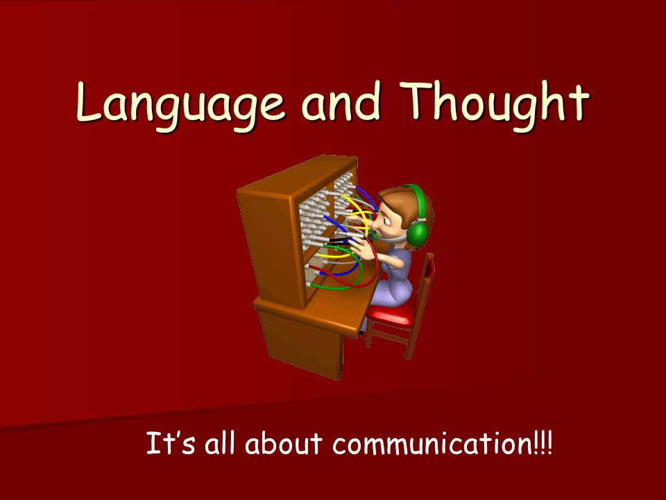 It's all about communication!!!