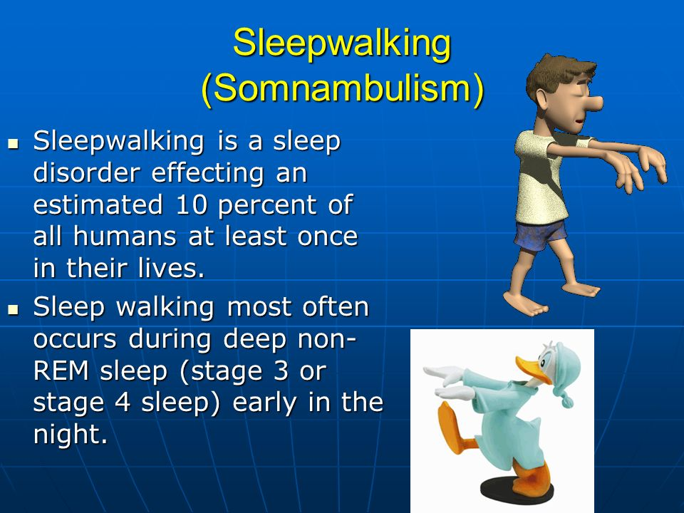 Sleepwalking (Somnambulism)