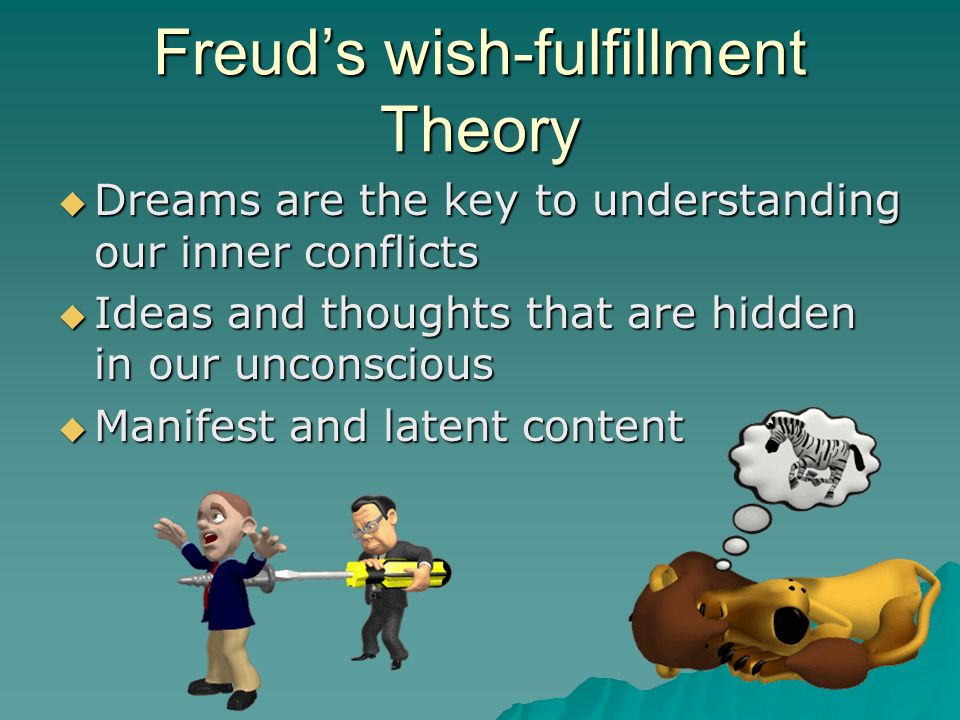 Freud's wish-fulfillment Theory