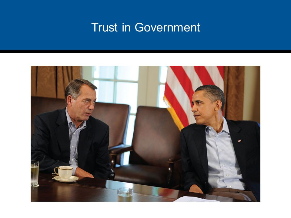 americans declining trust in the government Americans' trust in government has been declining since the late 1950s and after an uptick from the mid-1990s to the early 2000s, confidence again dropped, according to pew research data cited by .
