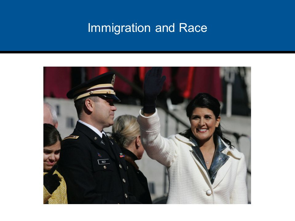 Race politics and immigration