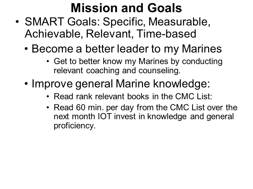 Marine Corps Leadership Development MCLD ppt download – Counseling Worksheet Usmc
