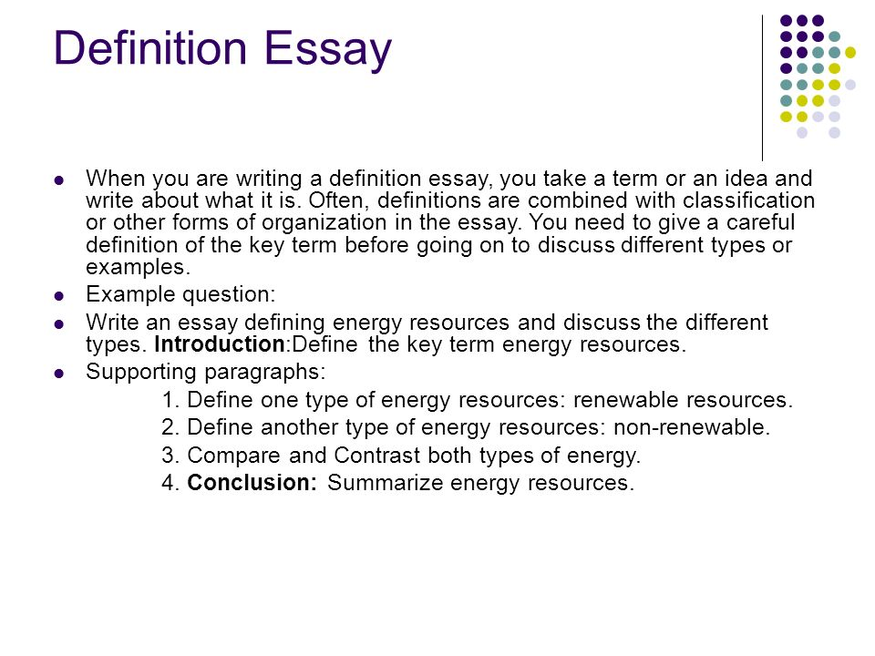 writing an expository essay ppt  definition essay