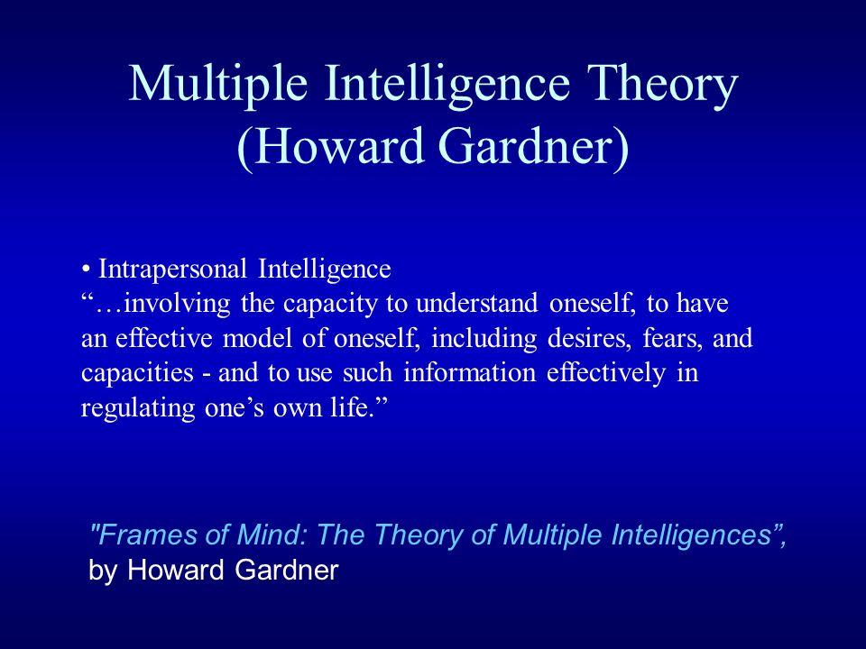 Multiple Intelligence Theory (Howard Gardner)