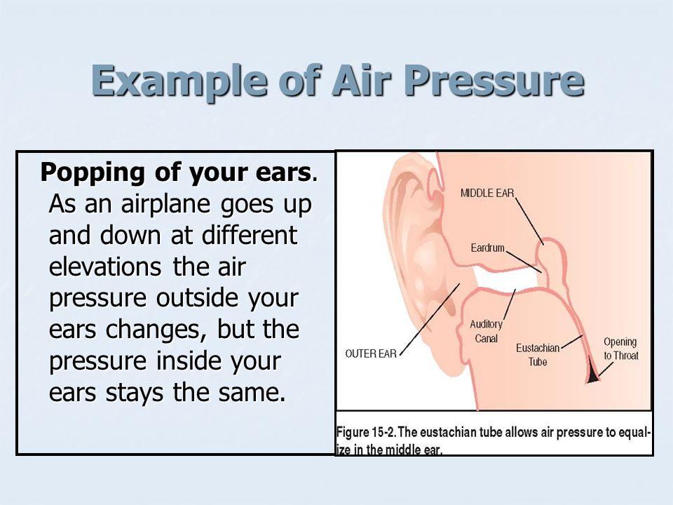 Example of Air Pressure