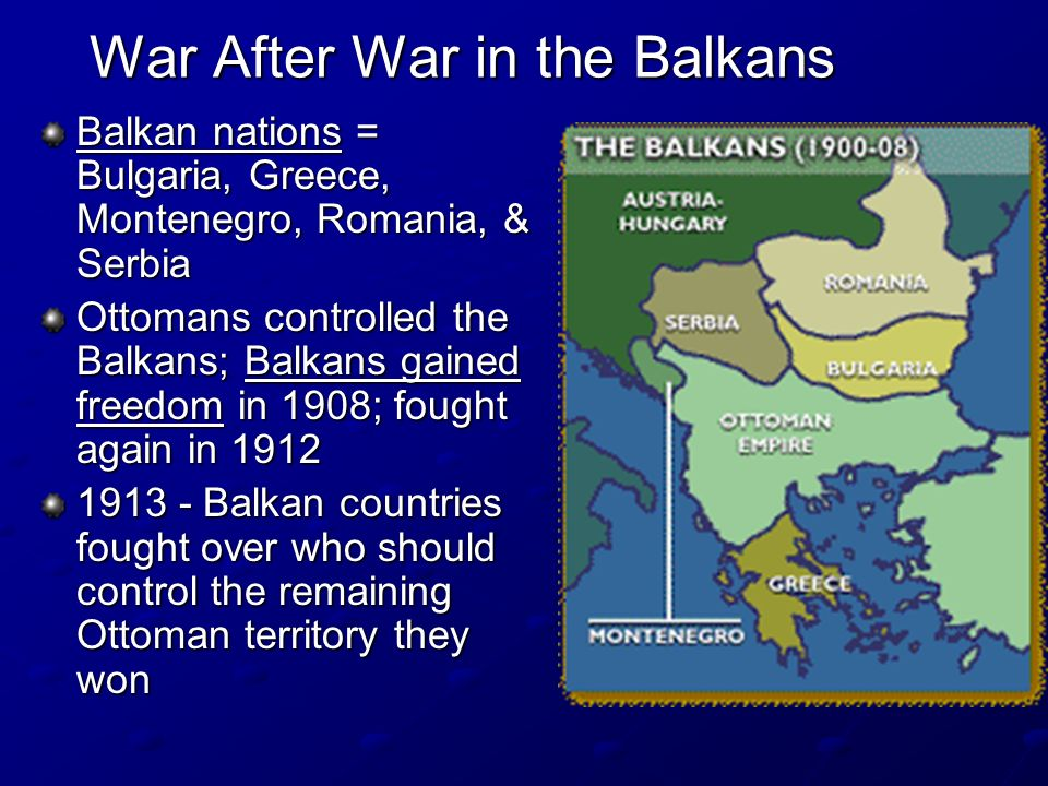 War After War in the Balkans