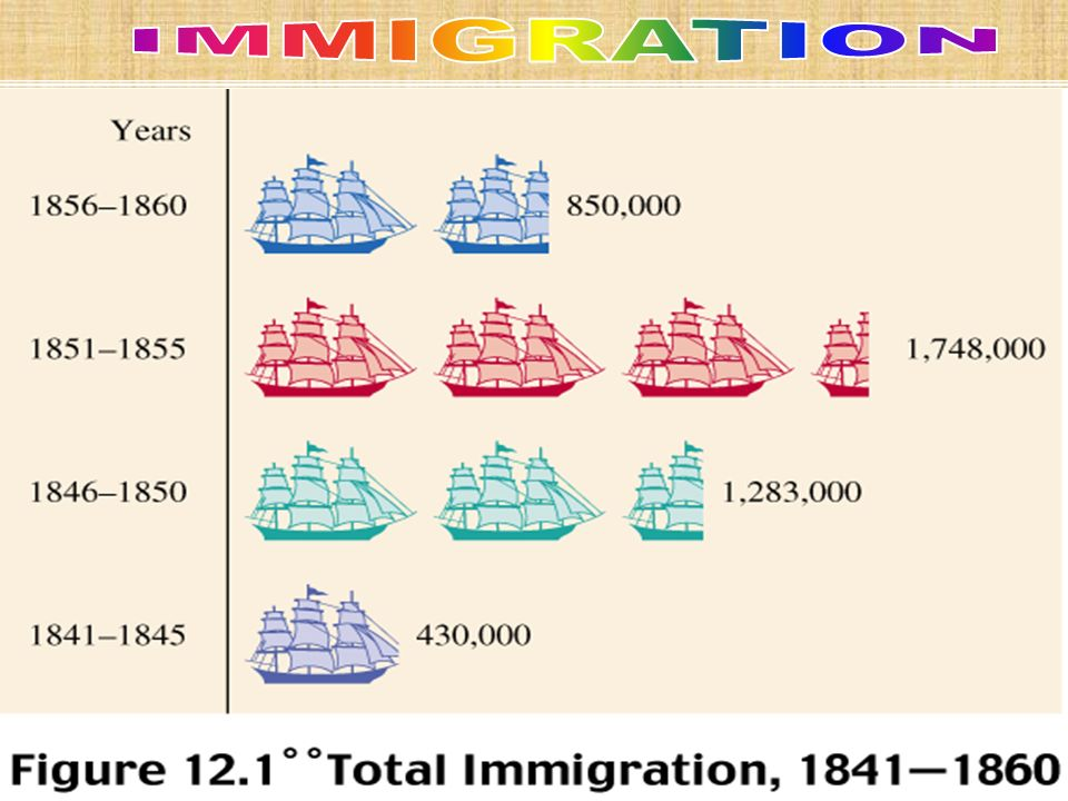 IMMIGRATION Hated because they were willing to work for less