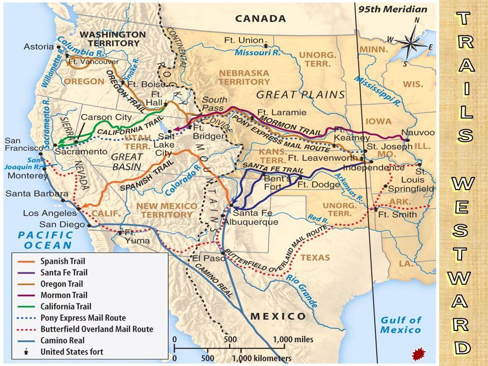 TRAILS WESTWARD Trails