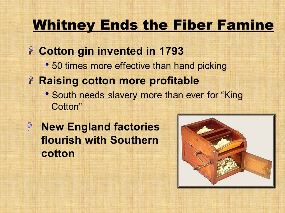 Whitney Ends the Fiber Famine