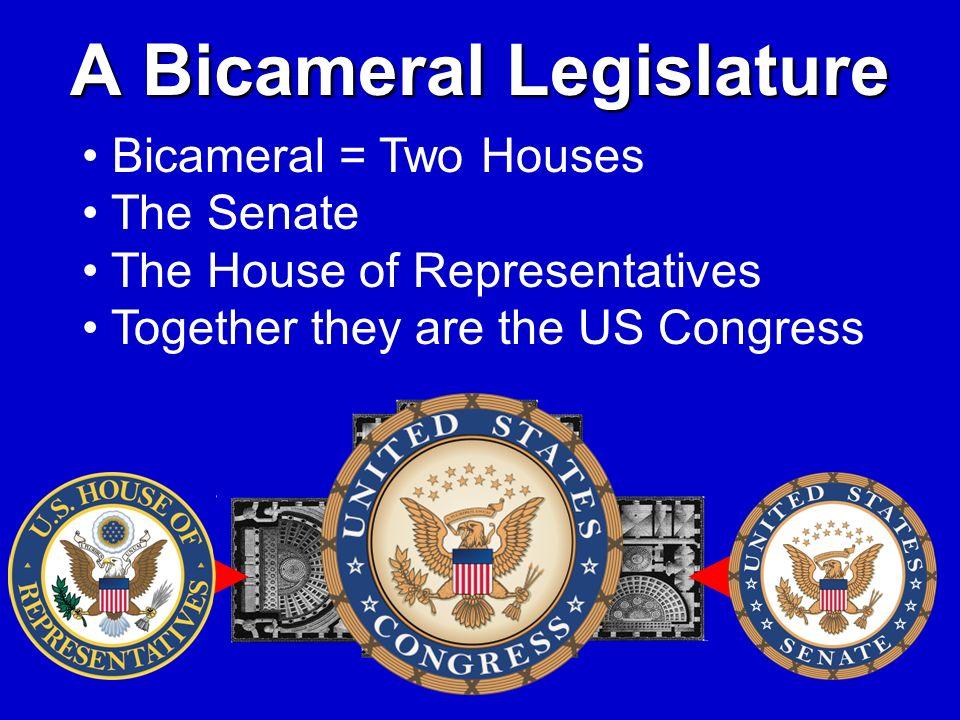 A Bicameral Legislature