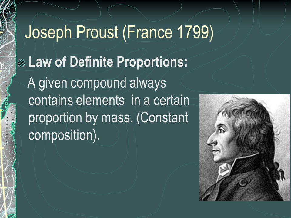 Joseph Proust (France 1799)