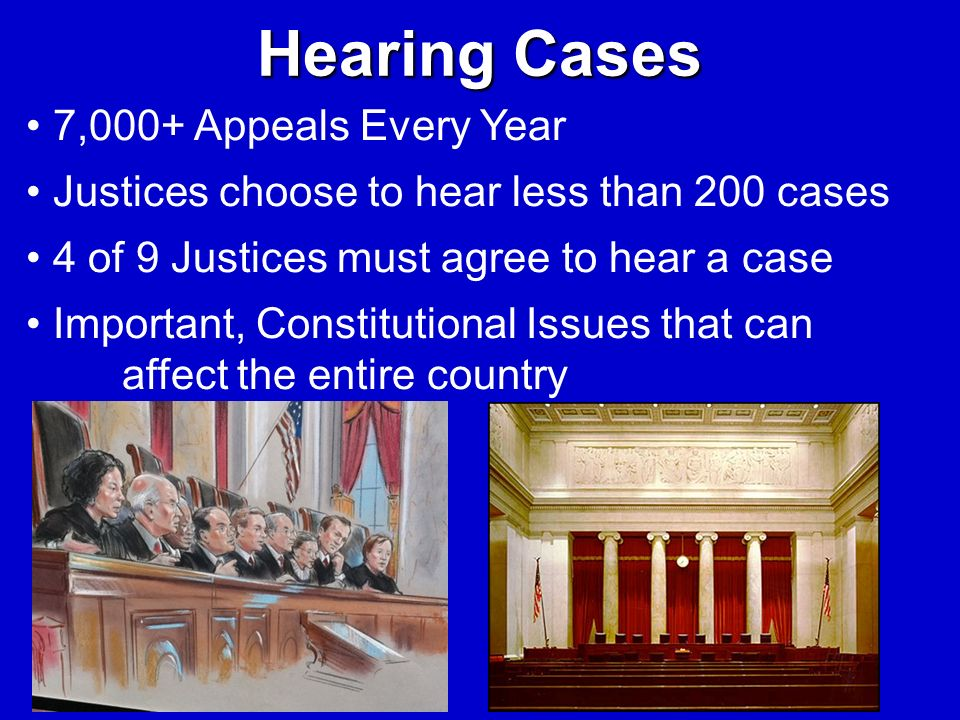 Hearing Cases 7,000+ Appeals Every Year