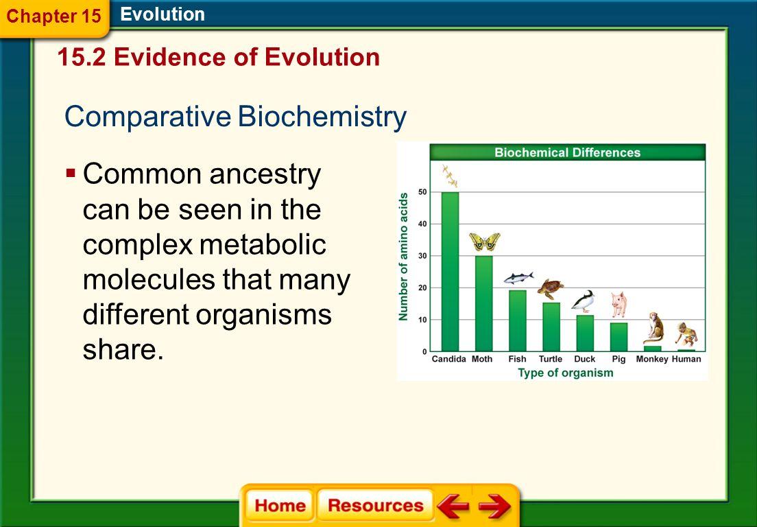 Comparative Biochemistry