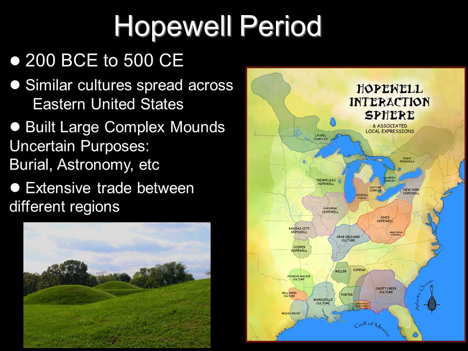 Pre columbian wisconsin ppt video online download for Hopewell fish and game
