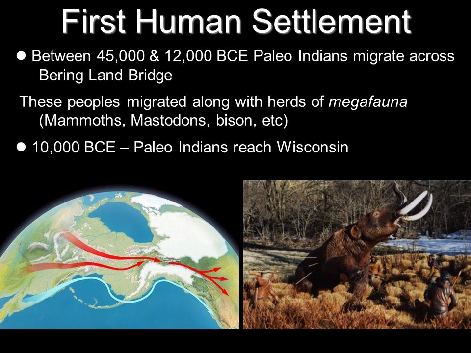 First Human Settlement