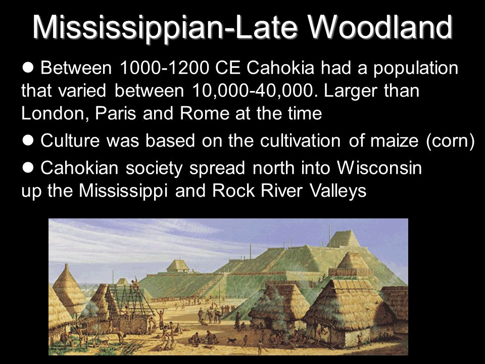 Mississippian-Late Woodland