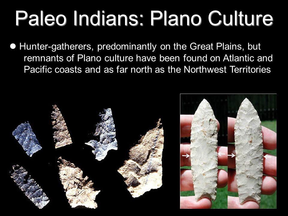 Paleo Indians: Plano Culture