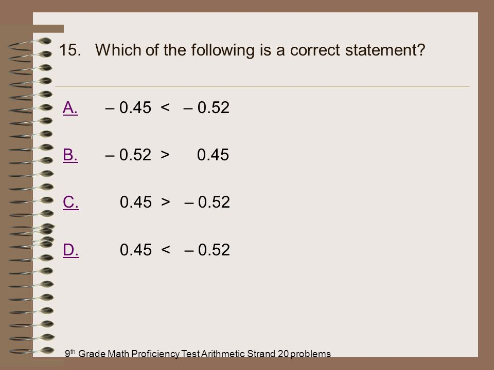 15. Which of the following is a correct statement