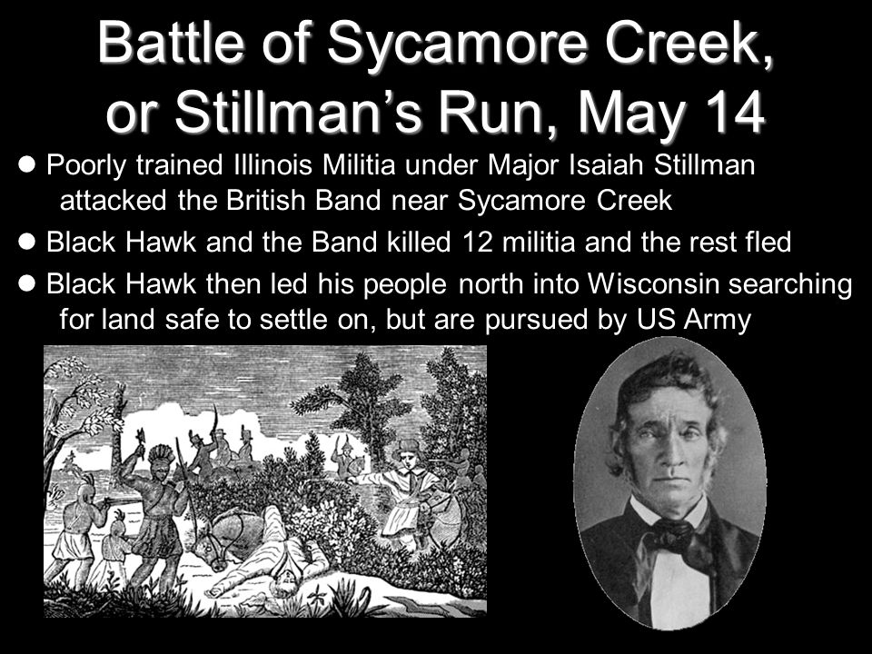 Battle of Sycamore Creek, or Stillman's Run, May 14