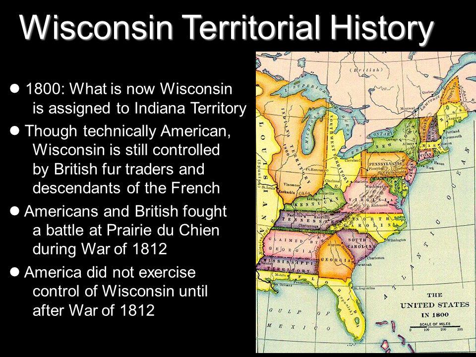 Wisconsin Territorial History