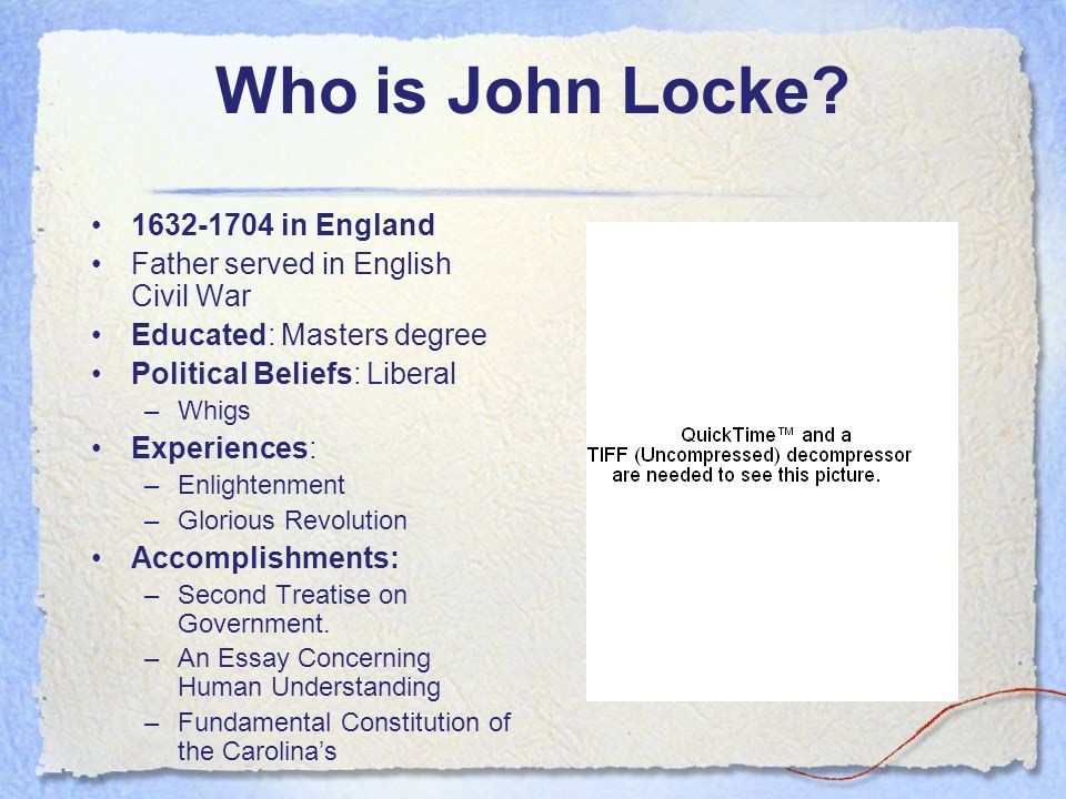 John Locke And The Constitution Essay Term Paper Example    John Locke And The Constitution Essay