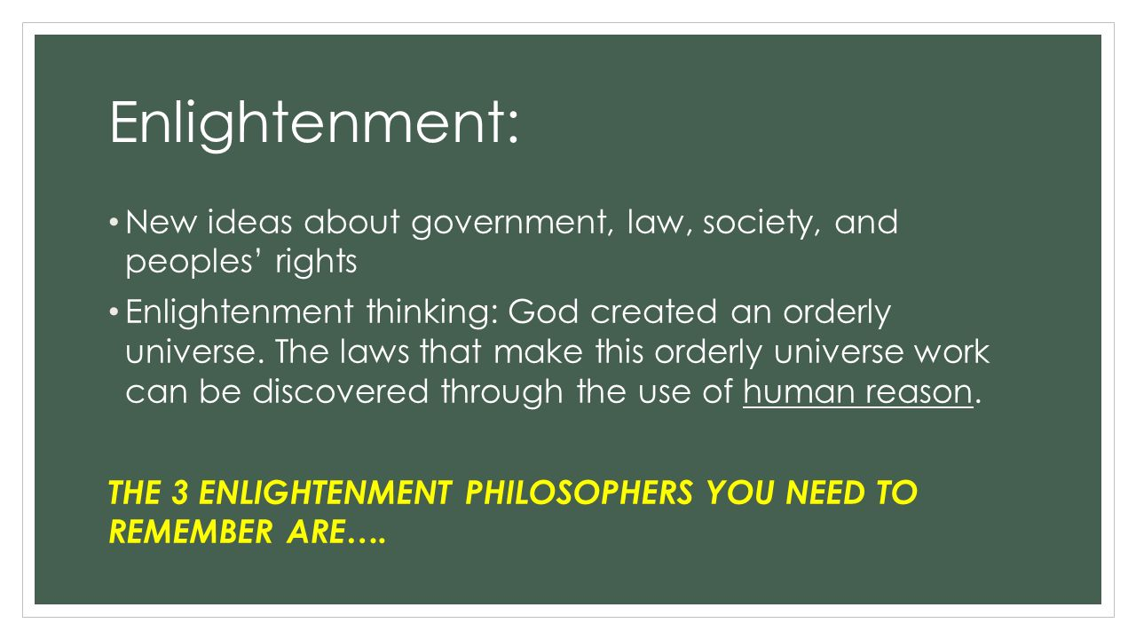 the enlightenment and its impact on The enlightenment influenced the american revolution by proposing thoughts and  its anti-authority  ideas of the enlightenment enlightenment influence.