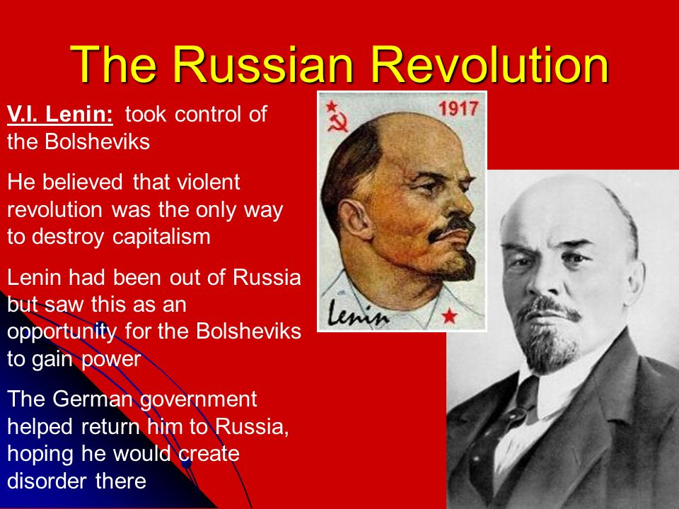 causes for and consequences from the russian bolshevik revolution of 1917