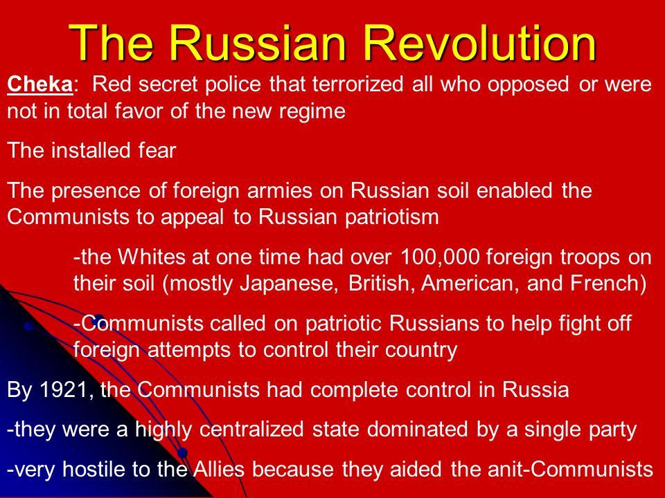 Control In The Russian Revolution 121