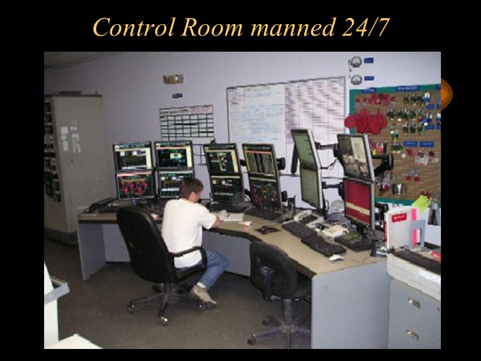 Control Room manned 24/7