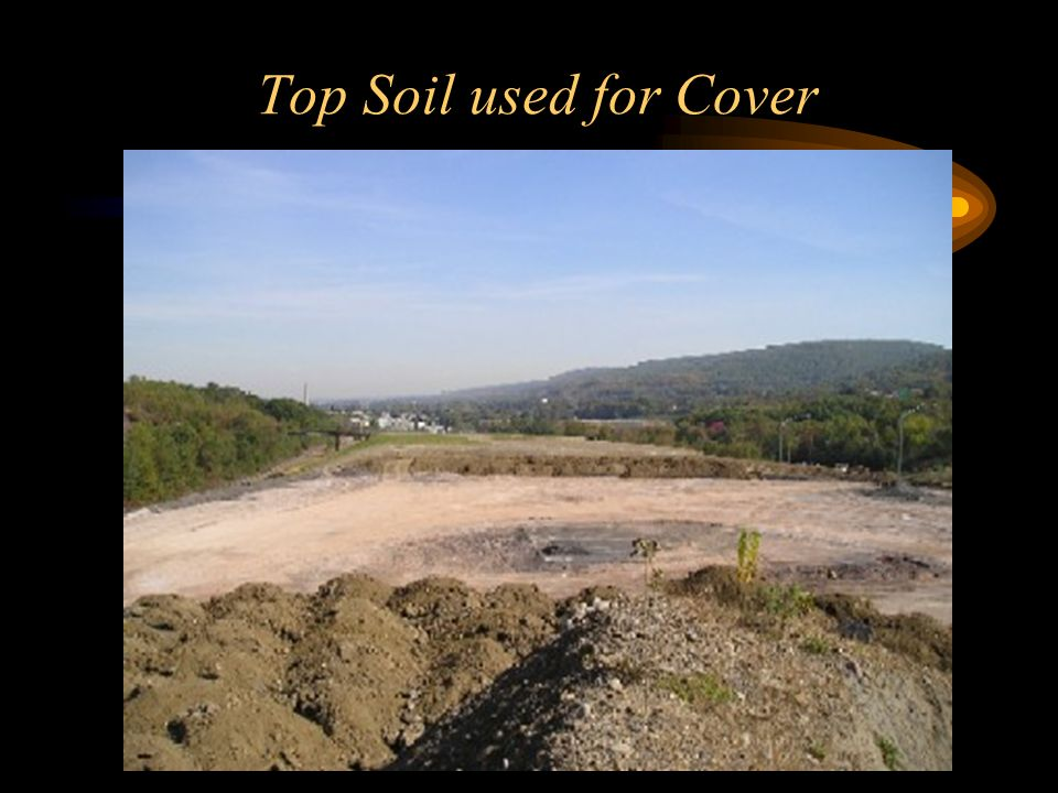 Top Soil used for Cover