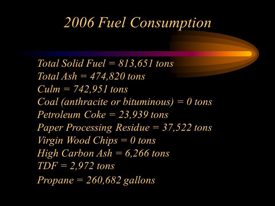 2006 Fuel Consumption