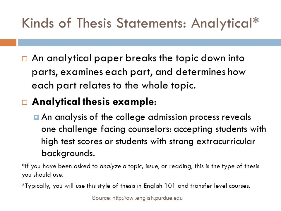 English Composition Essay Examples Kinds Of Thesis Statements Analytical How To Write An Essay Proposal Example also The Yellow Wallpaper Essay Topics Essay Structure And Thesis  Ppt Download High School Essays Examples