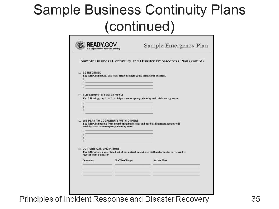 Bcp Business Continuity Plan Pdf. Free Incident Response Plan Template For  Disaster Recovery .