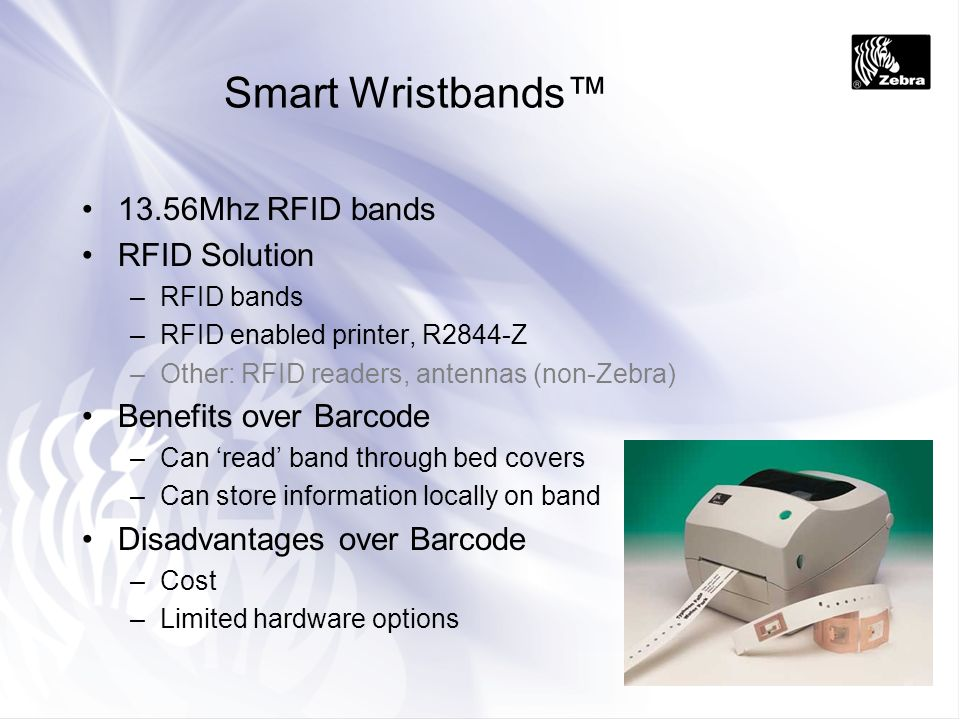Smart Wristbands™ 13.56Mhz RFID bands RFID Solution