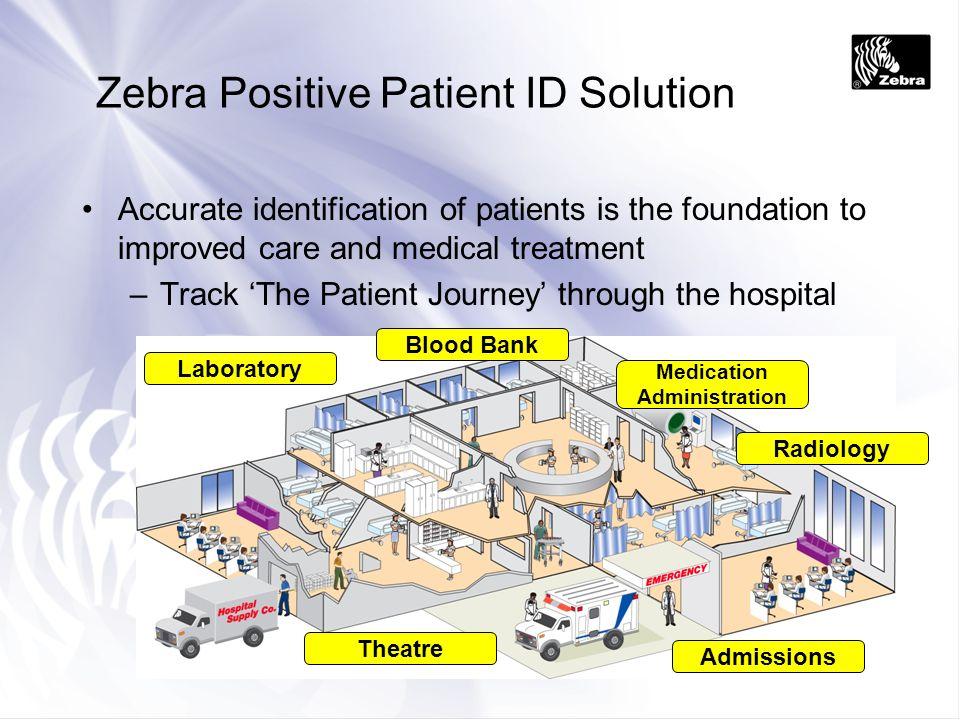 Zebra Positive Patient ID Solution