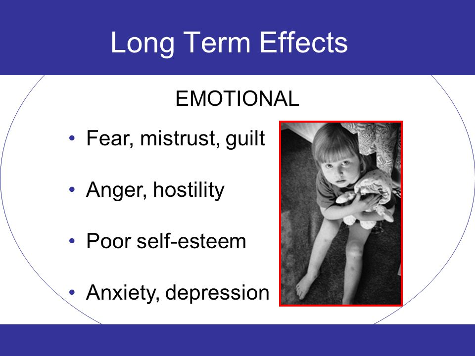 Long term effects of dating abuse